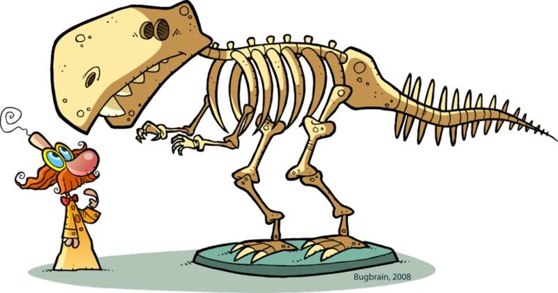 Med dinozavri -četrtič - RAZPRODANO
