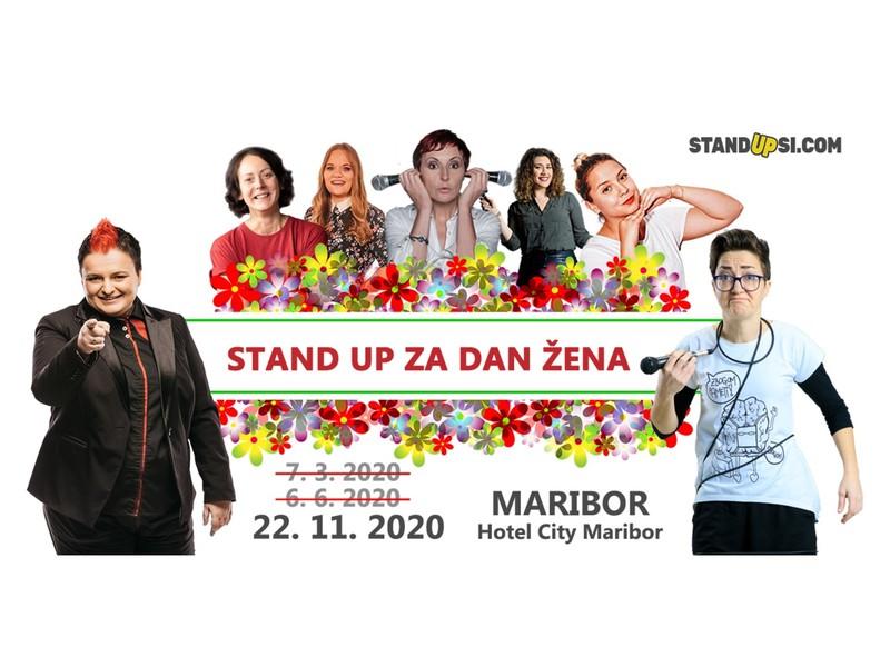 Stand up za dan žena (MB) - Nov datum!