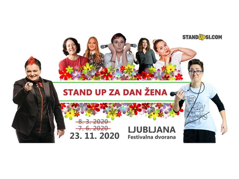Stand up za dan žena (LJ) - Nov datum!
