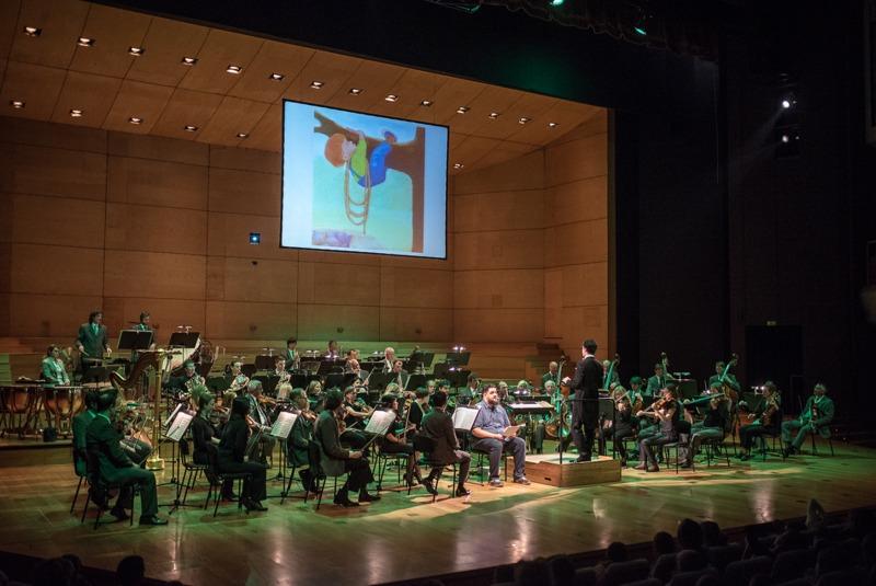 Orkester, Peter in volk